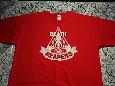 Large- Red Death Reaper's Teefury Brand T- Shirt