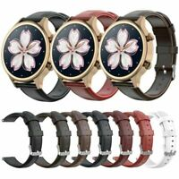 Für Ticwatch C2 Leder Uhrenarmband Armband 18MM/20MM Quick Release Wrist Strap