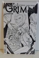 Dynamite Grimm #4 Retailer Incentive B+W Variant Cover!!! NBC Dynamic Forces