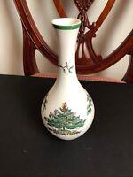 "Spode Christmas Tree 7 1/2"" Bud Vase S3324-I - Made in England"