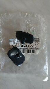 Nissan 100NX B13, parcel shelf cord, Tailgate hooks, new genuine pair.