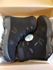 BNIB Lico Wildlife Lightweight Black Snow Boots UK 6 / EU 39 RRP £54