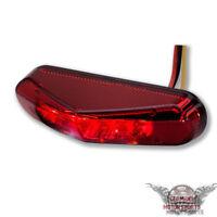 LED Mini Motorrad Rücklicht Heckleuchte Bremslicht Triangle rot universal