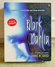Very RARE BLACK DAHLIA Big Box PC 8 CD Version Dennis Hopper EXCELLENT CONDITION