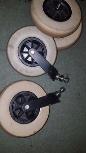 Invacare HARRIER Castors Forks Bearings wheelchair power chair  4 wheels