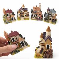 Miniature House Fairy Garden Micro Landscape Home Decor Resin Craft Non-toxic