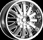 "20"" Cruiser 351 Chrome Wheels & Tyres  Holden Ford Nissan Toyota 5x114.3/120"