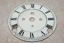 ANSONIA PORCELAIN DIAL AND CENTER 4 inch NEW CLOCK PARTS