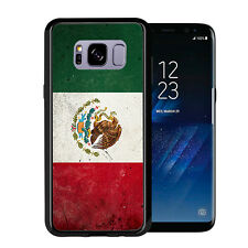 Mexican Mexico Flag Grunge For Samsung Galaxy S8 Plus + 2017 Case Cover by Atomi