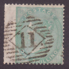 SG71 One Shilling  Green   Wing Margin  Catalogued from £310