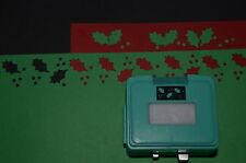 "For Creative Memories "" Holly Berries ""Border Maker Cartridge Brand New !"