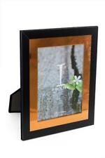 "Lovely Chic Modern Black and Copper Photo Frame 6"" x 8"" IF11468"