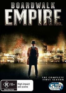 BOARDWALK EMPIRE SEASON 1 (DVD,2011) NEW+SEALED