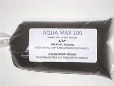 "2 lbs. Purina Aqua Max 100 Fish Food 50% Protein .02""  Aquarium and Pond Fish"