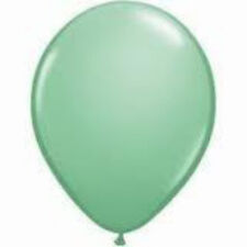 12 Fashion Green Latex Balloons Helium Grade 11""