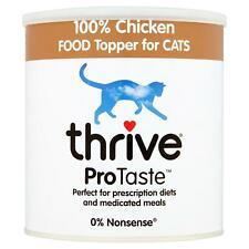 thrive ProTaste 100% Natural Chicken Food Topper, Taste Enhancer for Cats - 170g