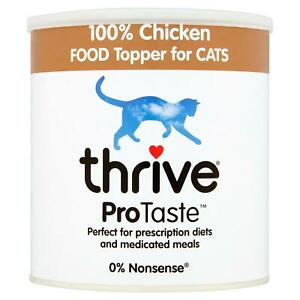 thrive ProTaste 100% Natural Chicken Food Topper, Taste Enhancer for Cats - 170g