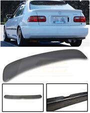 Ferio Style PRIMER BLACK Rear Lid Wing Spoiler For 92-95 Honda Civic EG9 Sedan
