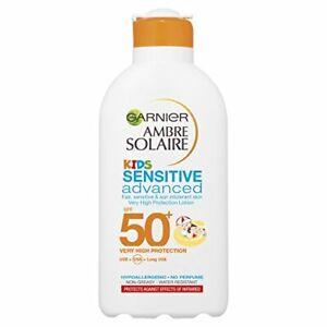 Ambre Solaire Kids Sensitive Sun Cream SPF50+ 200ml