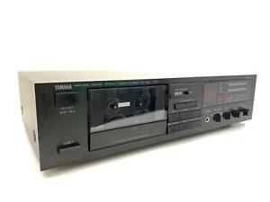 YAMAHA KX 200 Stereo Cassette Deck 2 Head Vintage 1988 Refurbished Good Look