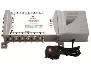 TRIAX TMS 524 ECO STAND ALONE MULTI-SWITCH QUAD / QUATTRO LNB (5 IN 24 OUT)