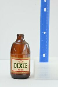 Dixie Beer, Vintage Beer Bottle 1970s