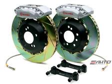 Brembo Front GT Brake BBK 4piston Silver 328x28 Slot Disc Rotor Fiesta 10-14