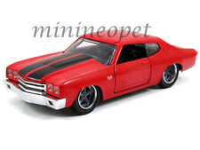 JADA 97380 THE FAST AND FURIOUS DOM'S CHEVY CHEVELLE SS 1/32 DIECAST CAR RED
