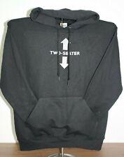 TWO-SEATER Hoodie Sweatshirt  Medium, Black