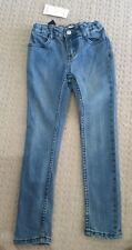 BNWT Gymboree Girls Size 4-5 years Blue Skinny Leg Jeans w Adj Waist