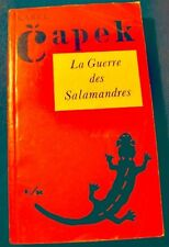 ++KAREL CAPEK la guerre des salamandres 1960 Ed. français réunis EO RARE++