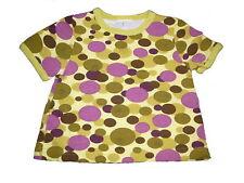 TollesT-Shirt Gr. 56 grün-lila mit Kreis Motiven !!