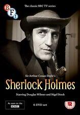 SHERLOCK HOLMES 1964-1965: DOUGLAS WILMER - Original BBC TV Series R2 DVD not US