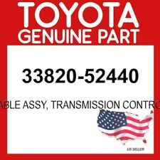 TOYOTA GENUINE 33820-52440 CABLE ASSY, TRANSMISSION CONTROL OEM
