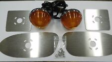 1958 - 1959 GMC Park Light Kit To Replace The OE Style Glass Lens AMBER Lights