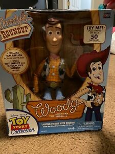 Toy Story Sheriff Woody Talking Figure No# 64012 COLLECTORS EDITION