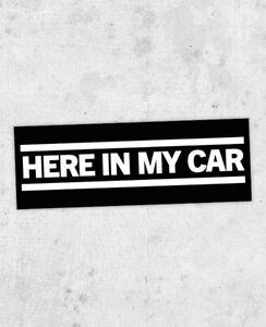Gary Numan inspired sticker! Cars,The Pleasure Principle, telekon, Replicas