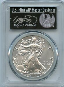 2017 $1 American Silver Eagle 1 of 1000 PCGS MS 70