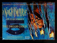 """A NIGHTMARE ON ELM STREET 5 THE DREAM CHILD repro UK quad poster 30x40"""" FREE P&P"""