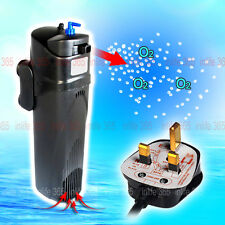 Aquarium Filter Pump 9W UVC Light Sterilizer Germicidal Lamp UV 800L/H MultiFun