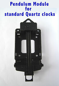 Quartz PENDULUM FRAME ADAPTER MODULE MECHANISM for all standard quartz movements
