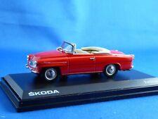 1/43 SKODA  Felicia, Roadster, 1963, BK-red, Re-Edition