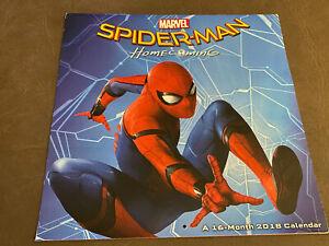 Spider-Man Homecoming 2018 Calendar