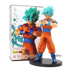 Dragon Ball Super DXF Goku Super Saiyan Blue PVC Figure Collectible Model Toy