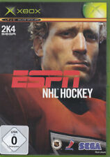 ESPN NHL HOCKEY (Xbox) en Box, avec mode d'emploi