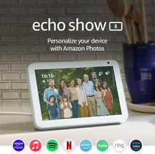 Echo Show 8HD Smart display with Alexa stay connected w/ video calling SANDSTONE