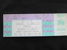NIRVANA CONCERT TICKET 1993 COA RARE! LAMINATE BACKSTAGE PASS STUB KURT COBAIN