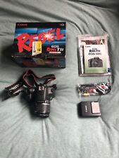 Canon Rebel T1i   EOS Camera Kit   EF-S 18-55
