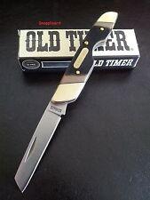 """Schrade Old Timer 3.7"""" Landshark 19OT Folding Pocket Knife, Work,Bush,Camp,Hunt"""