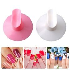 Popular Plastic Salon Tips Painting Nail Art Finger Stand Support Rest Holder